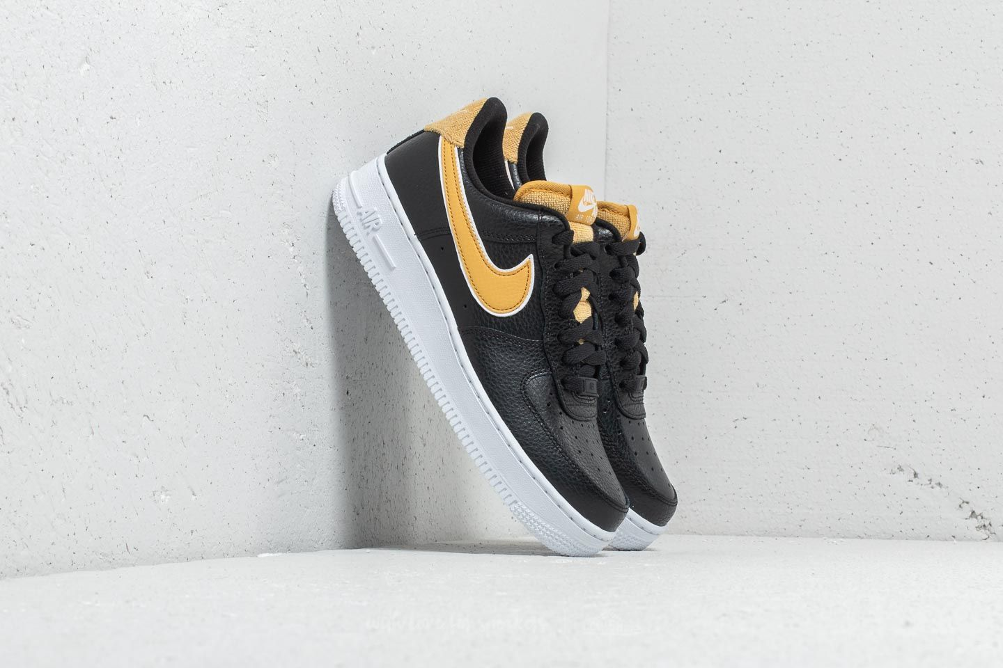 267b5f5c47bea Nike Wmns Air Force 1 '07 SE Black/ Wheat Gold | Footshop