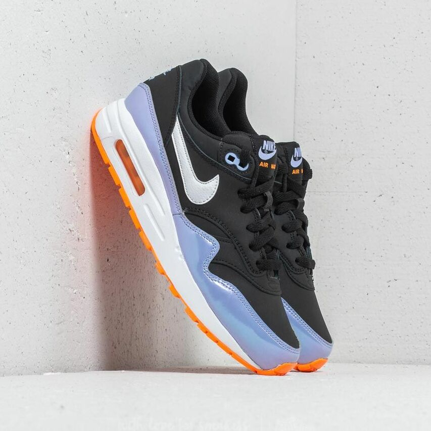Nike Air Max 1 (GS) Black/ White-Twilight Pulse EUR 40