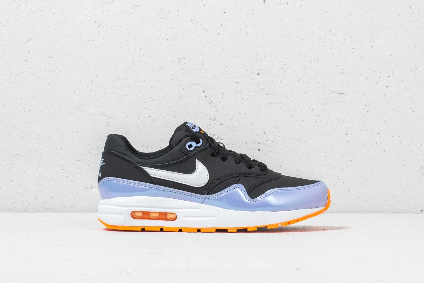 on sale 55f58 f52cb Nike Air Max 1 (GS) Black  White-Twilight Pulse at a great