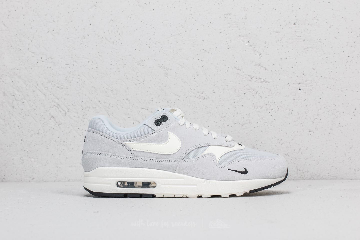 online retailer b61e4 aa0b6 Nike Air Max 1 Premium Pure Platinum  Sail-Black-White at a great