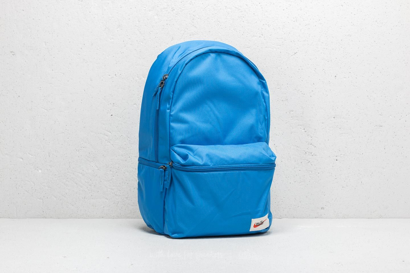 Nike Heritage Backpack Blue  Black   Footshop 3592e16020