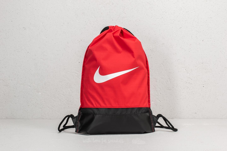 5ae10fdd36 Nike Brasilia Gymsack Red  Black  White at a great price  14 buy at Footshop