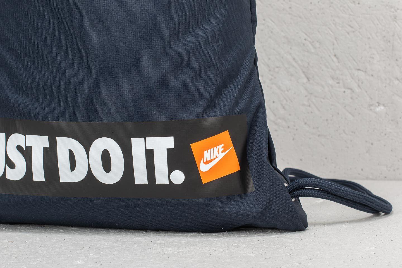 Nike Heritage Gymsack 1 Navy au meilleur prix 13 € Achetez sur Footshop 55274fd81f