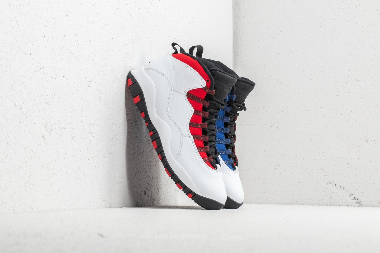 Air Jordan 10 Retro White  Black-University Red  83e584584e4e