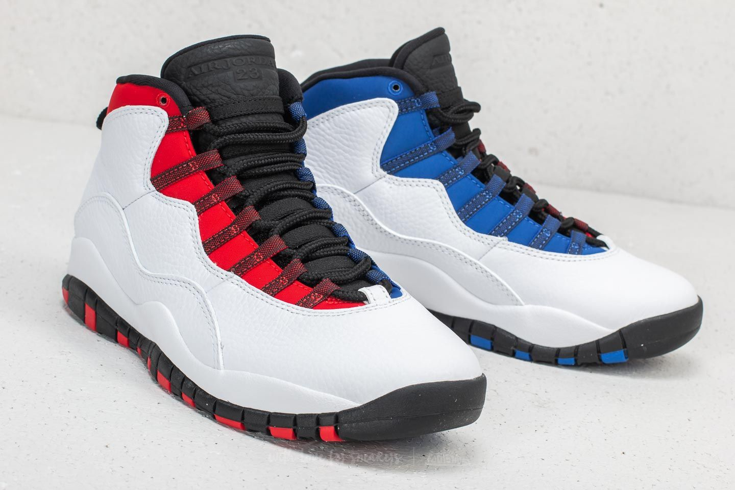 wholesale dealer c900d 1744f Air Jordan 10 Retro White/ Black-University Red | Footshop