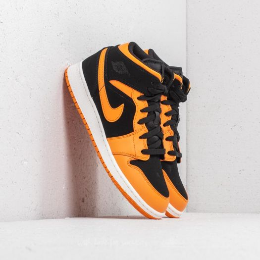 air jordan 1 mid femme orange 38