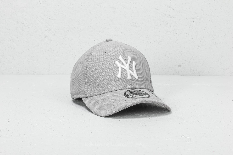 9ff9212b4ca New Era 39Thirty MLB Diamond Era New York Yankees Cap Grey ...