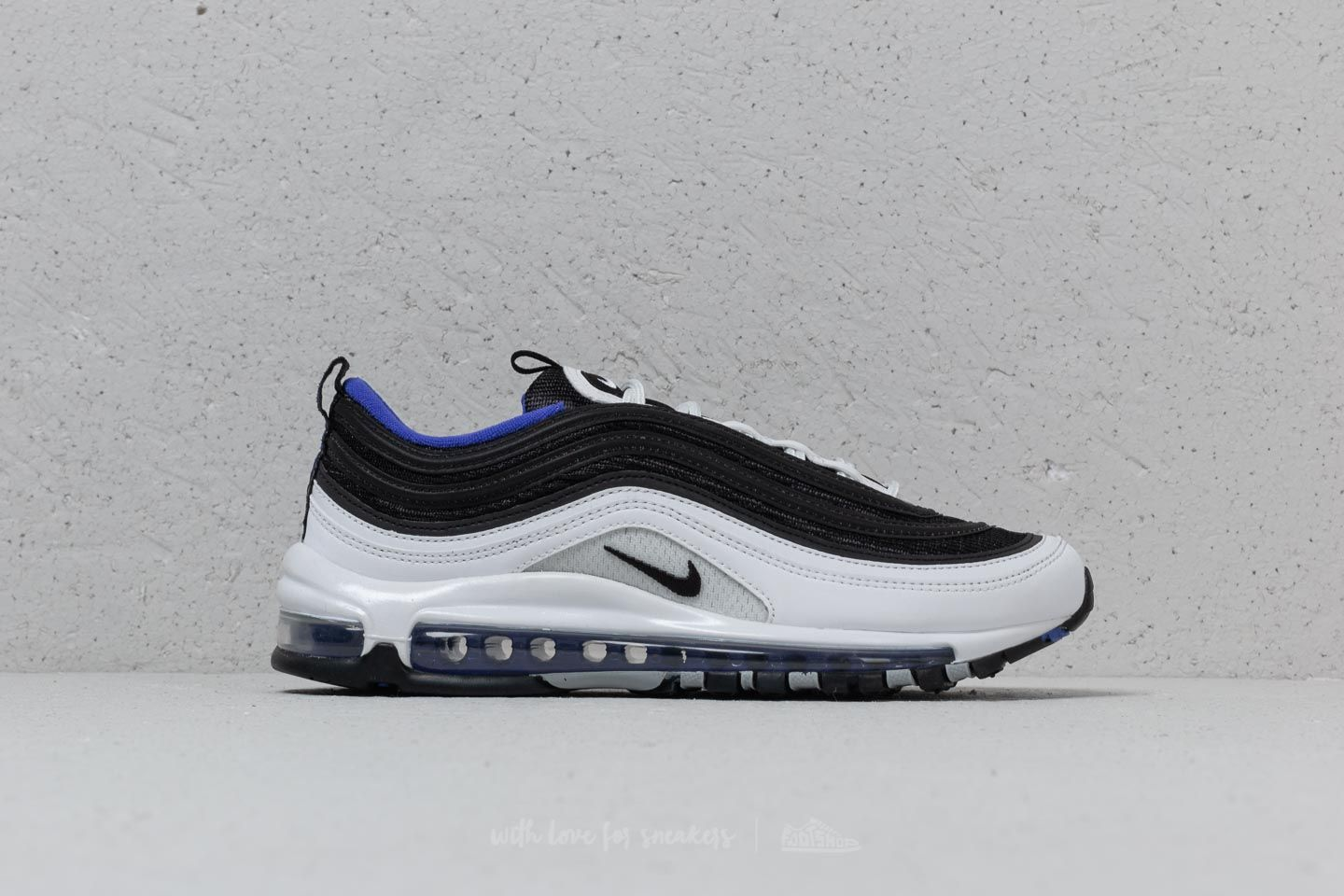Nike Air Max 97 White Black Persian Violet | Footshop