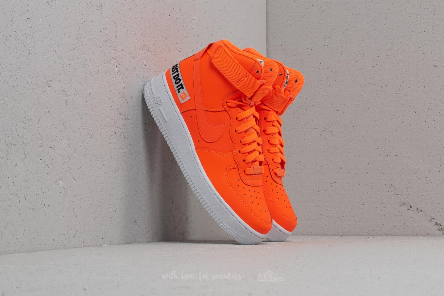 premium selection f25e4 79d04 Nike Wmns Air Force 1 Hi LX Leather