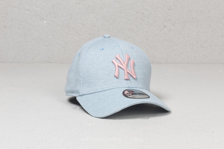New Era 39Thirty MLB Jersey Brights New York Yankees Cap Light Blue