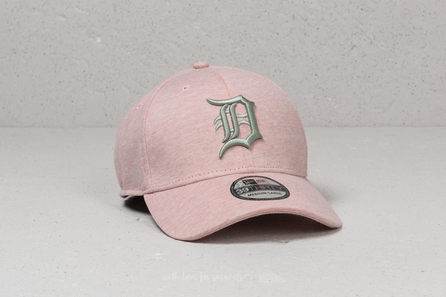 New Era 39Thirty MLD Jersey Brights Detroit Tigers Cap Pink