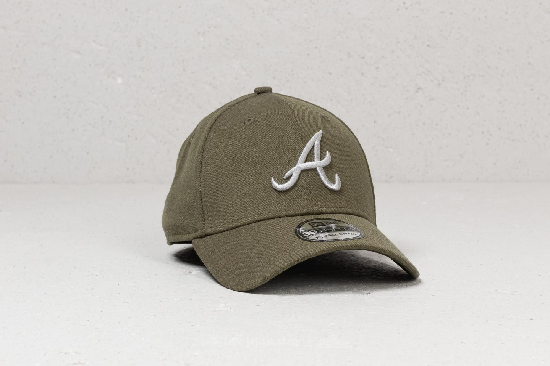 88e54c6b New Era 39Thirty MLB Atlanta Braves Cap Khaki | Footshop