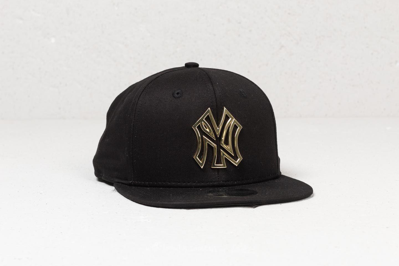 b41ae3ee3e996 New Era 9Fifty MLB Metallic Badge New York Yankees Snapback Black