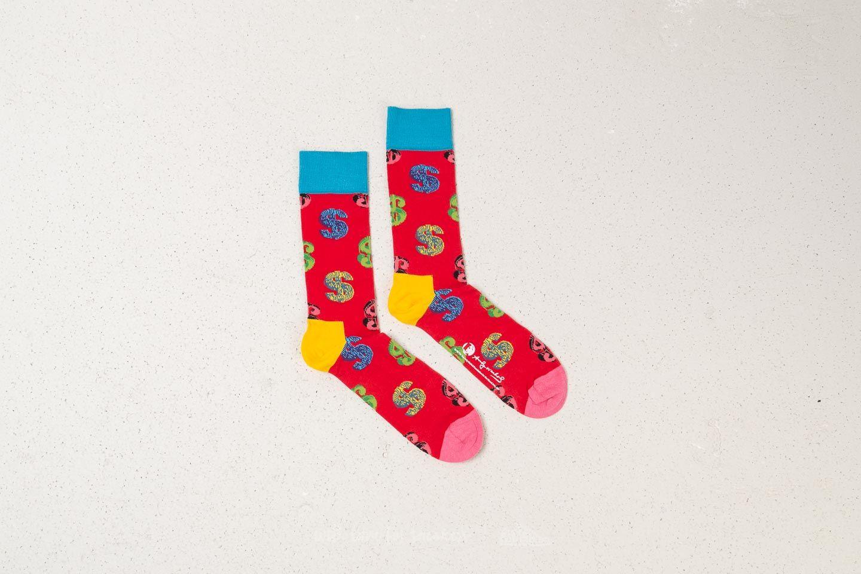Happy Socks x Andy Warhol AWDOL01-4000 za skvělou cenu 340 Kč koupíte na Footshop.cz