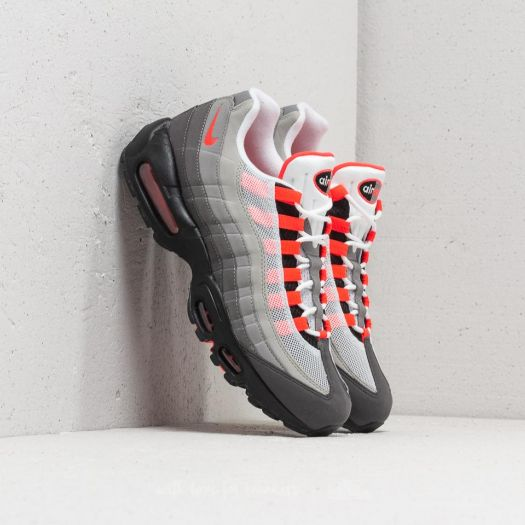 buy online 6eb6b 7294f Nike Air Max 95 OG White/ Solar Red-Granite-Dust | Footshop
