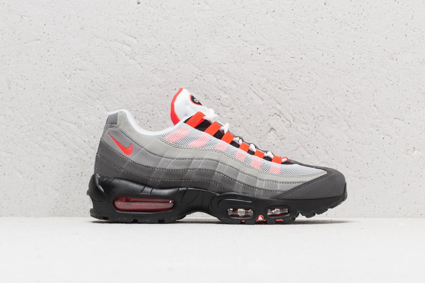 huge selection of b9515 0d8c8 Nike Air Max 95 OG White  Solar Red-Granite-Dust at a great