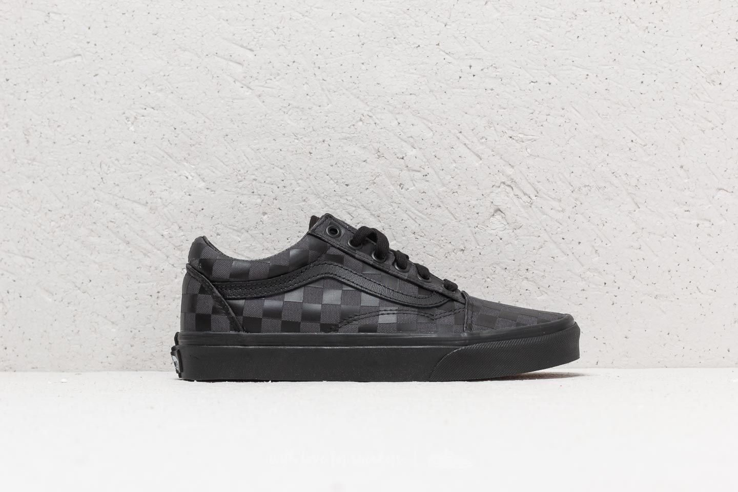 6f52cc5d78a368 Vans Old Skool (High Density) Black  Checkerboard at a great price 62 €