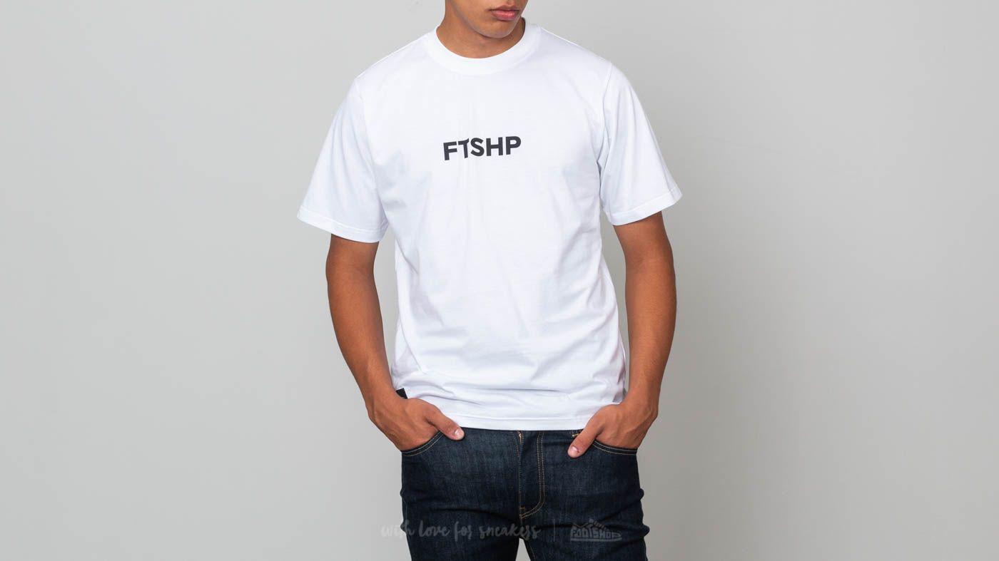 Footshop Shortsleeve Tee White za skvělou cenu 590 Kč koupíte na Footshop.cz