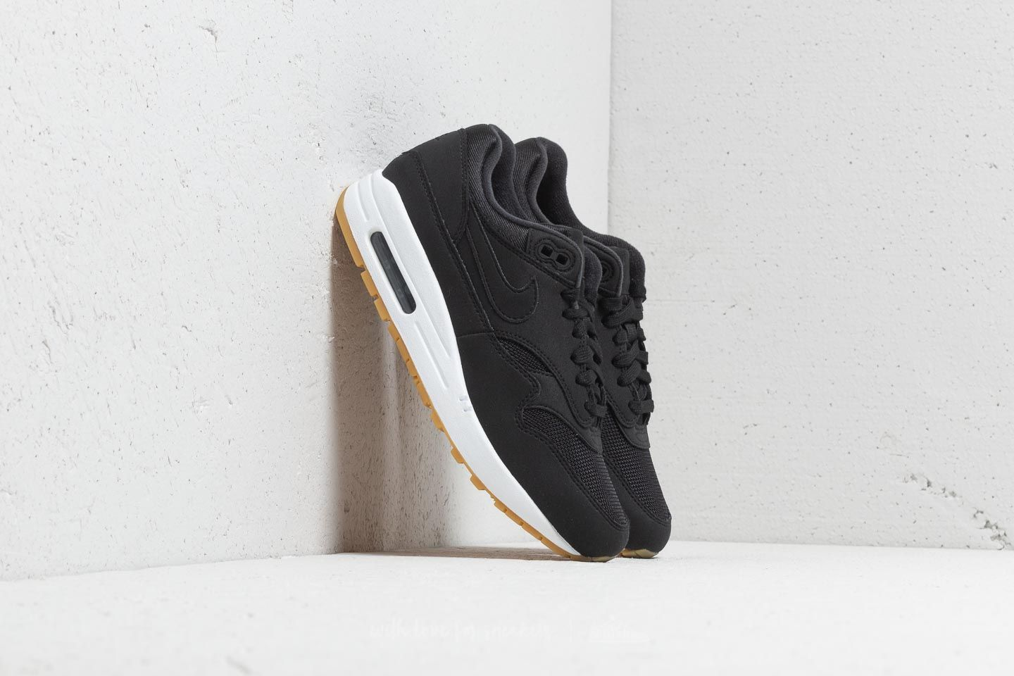 Nike Wmns Air Max 1 Black/ Black-Gum Light Brown
