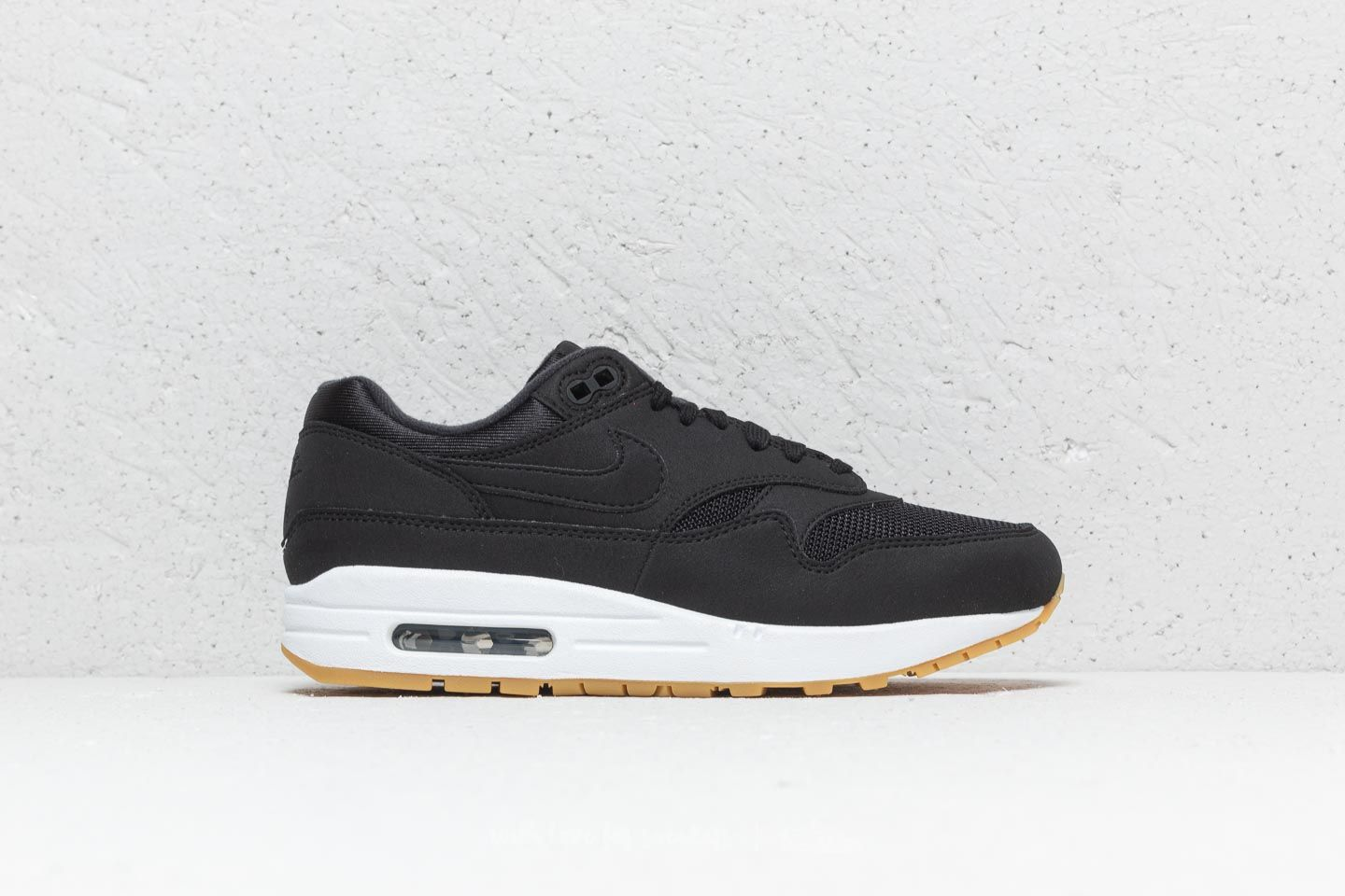 buy online 5e2a6 7543d Nike Wmns Air Max 1 Black  Black-Gum Light Brown at a great price