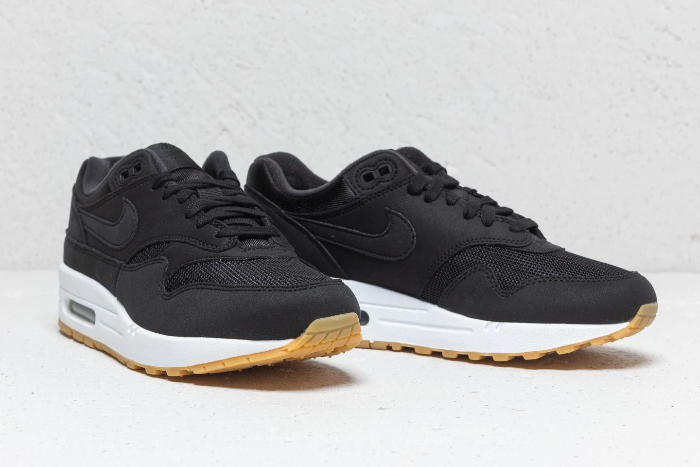 76fa5d0fe48f ... release date nike wmns air max 1 black black gum light brown at a great  price