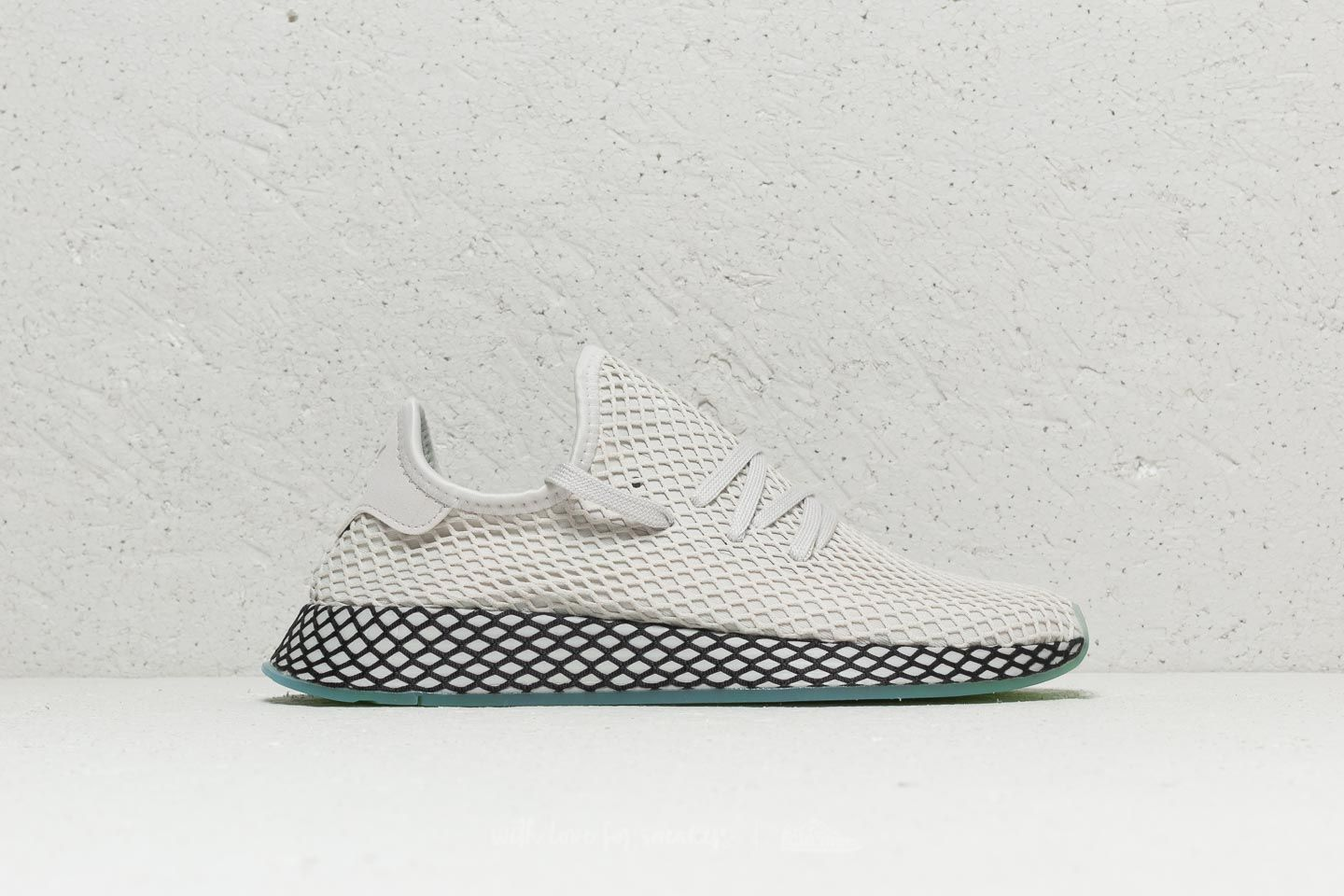 72658bcca adidas Deerupt Runner Grey One  Grey One  Clear Mint at a great price  82