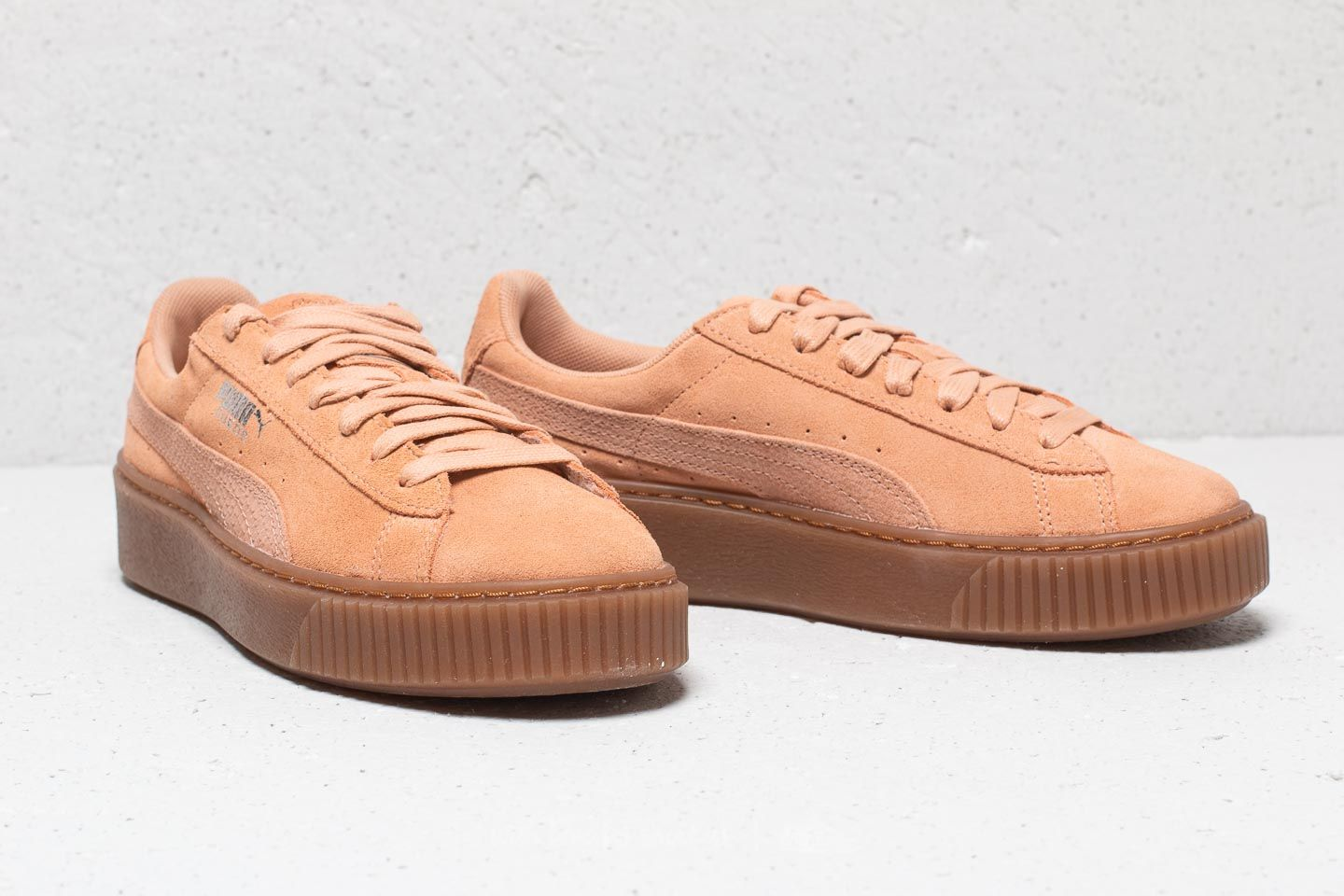 Puma Suede Platform Animal Wn s Dusty Coral  Puma Silver at a great price  £67 15523bfe8f59