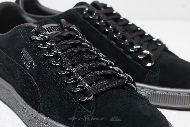Puma Suede Classic x Chain Puma Black Puma Black | Footshop