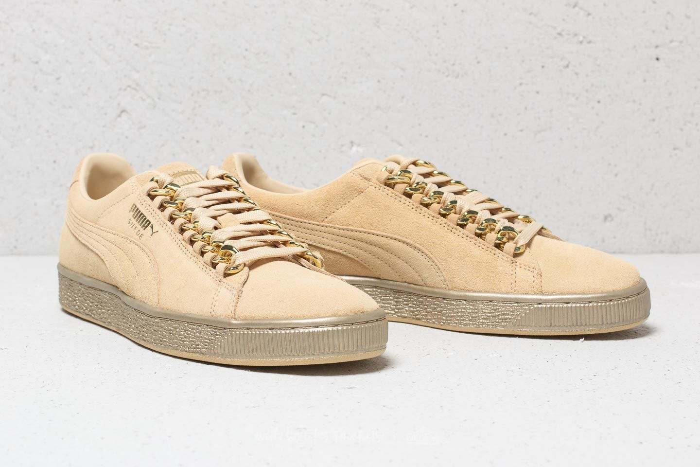 Suede Chain Metallic Puma Classic Gold x Yellow Footshop Reed xwFaPd4