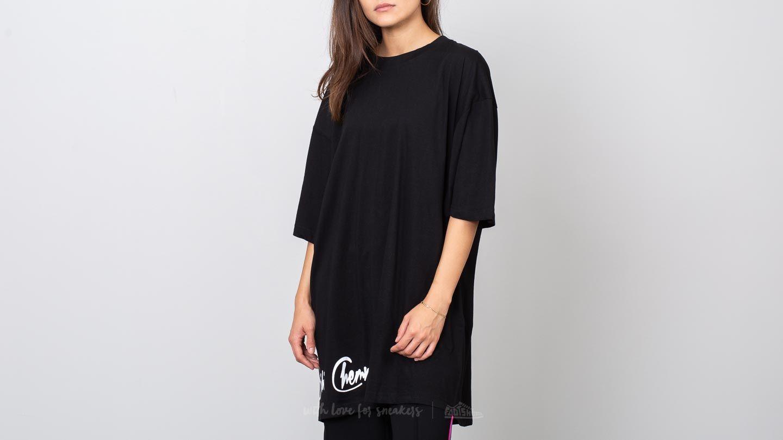 Bibi Chemnitz Oversized Logo T-Shirt Black
