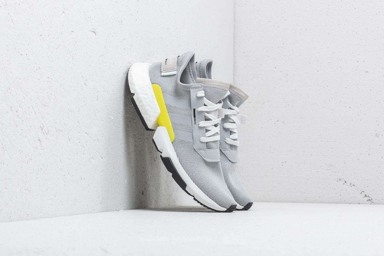 adidas POD S3.1 Grey Two Grey Two Shock Yellow | Footshop
