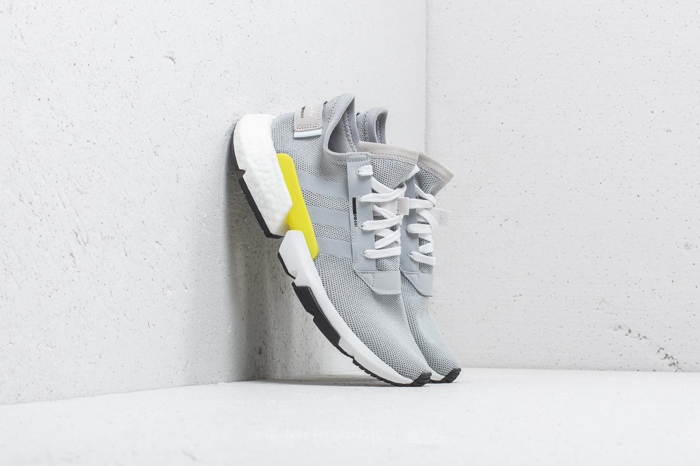 adidas POD-S3.1 Grey Two/ Grey Two/ Shock Yellow