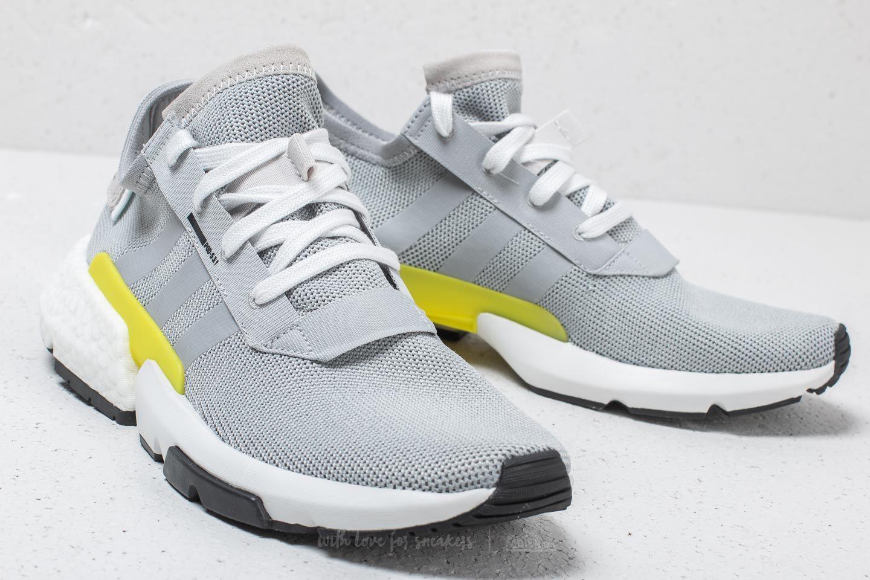 c39fbe5b5dda ... wide varieties adidas POD-S3.1 Grey Two Grey Two Shock Yellow Footshop  04c93 ...