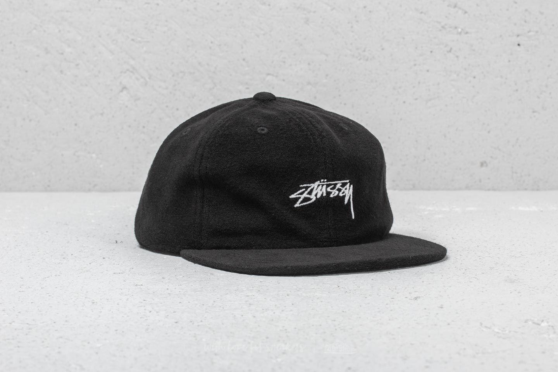 Stüssy Terry Cloth Cap Black za skvělou cenu 979 Kč koupíte na Footshop.cz