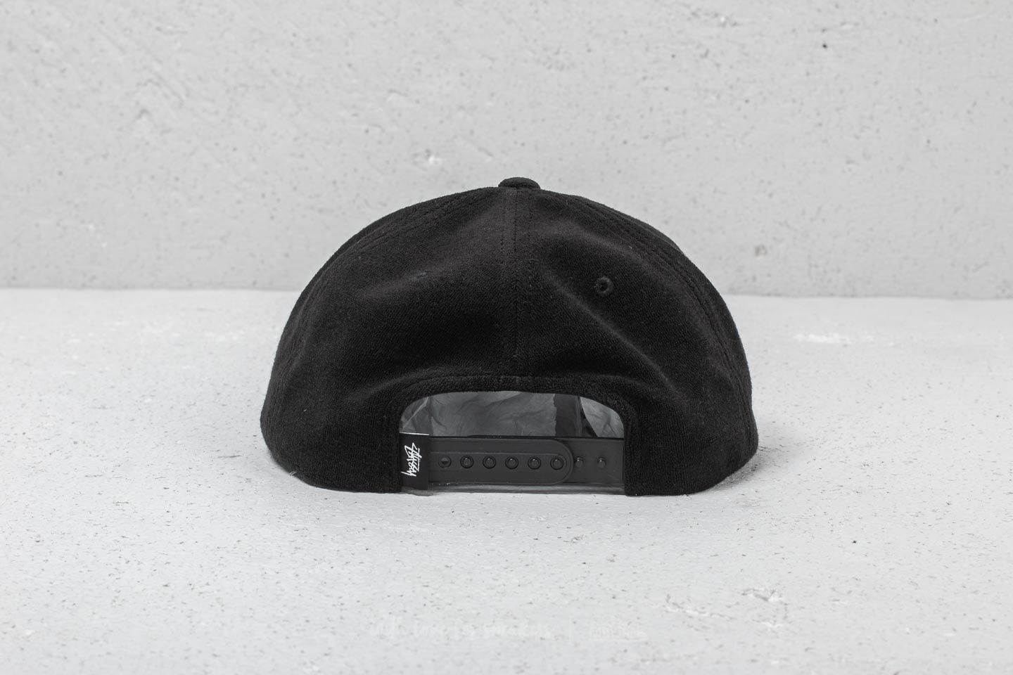 8af91bb282a Stüssy Terry Cloth Cap Black at a great price £32 buy at Footshop
