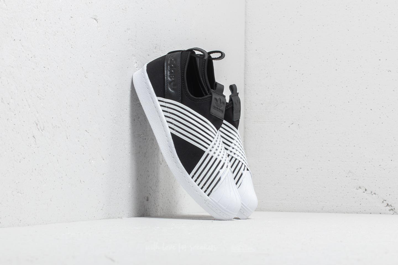 57ed62715 adidas Superstar Slip On W Core Black  Ftw White Ftw White