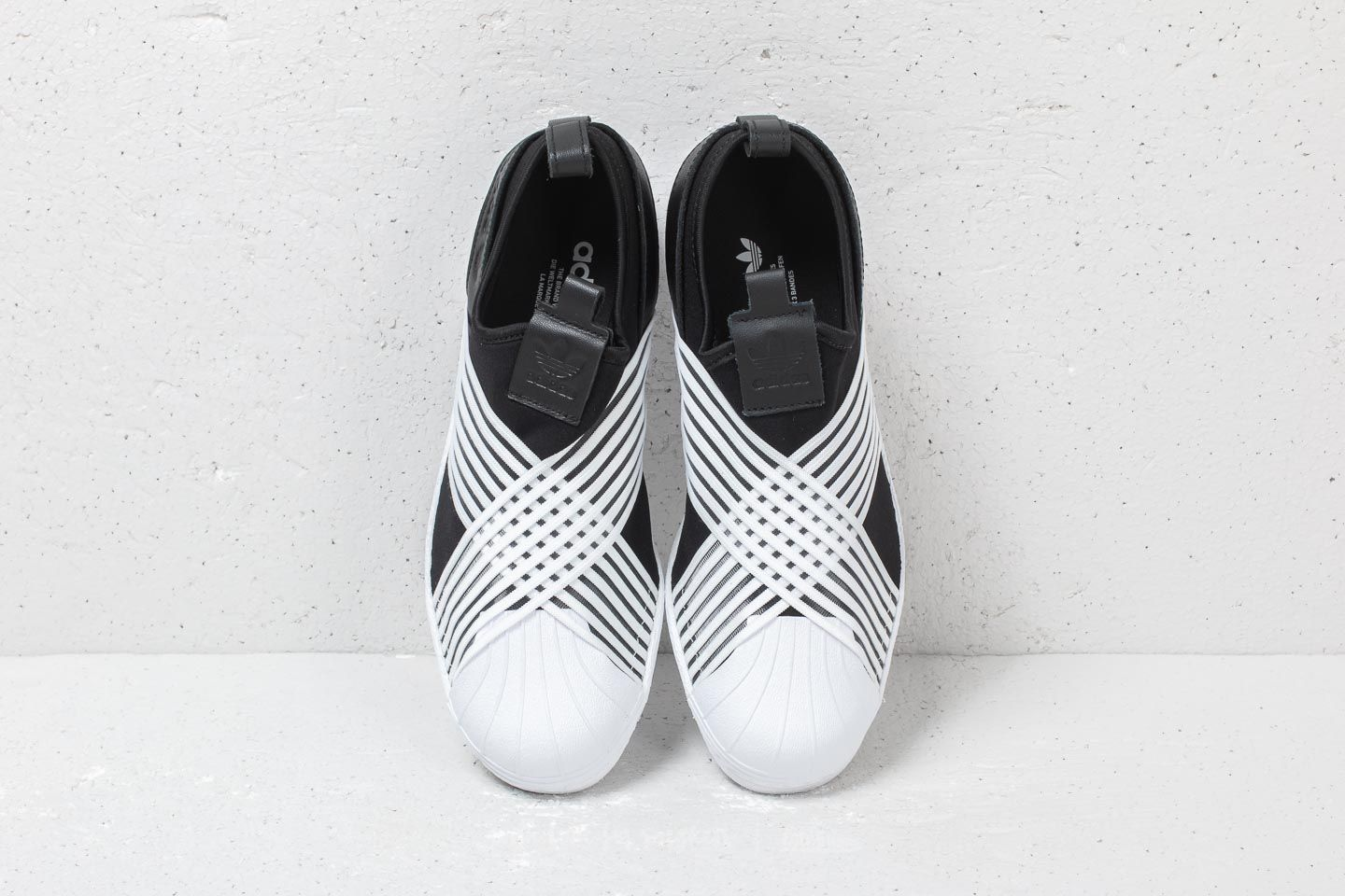 b61d8cbdad adidas Superstar Slip On W Core Black  Ftw White Ftw White at a great