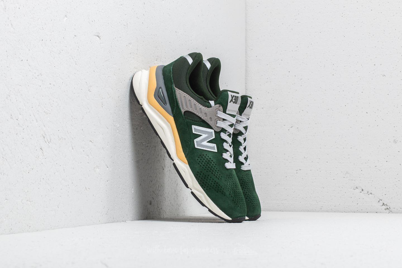 new balance x90 homme chaussures vert orange
