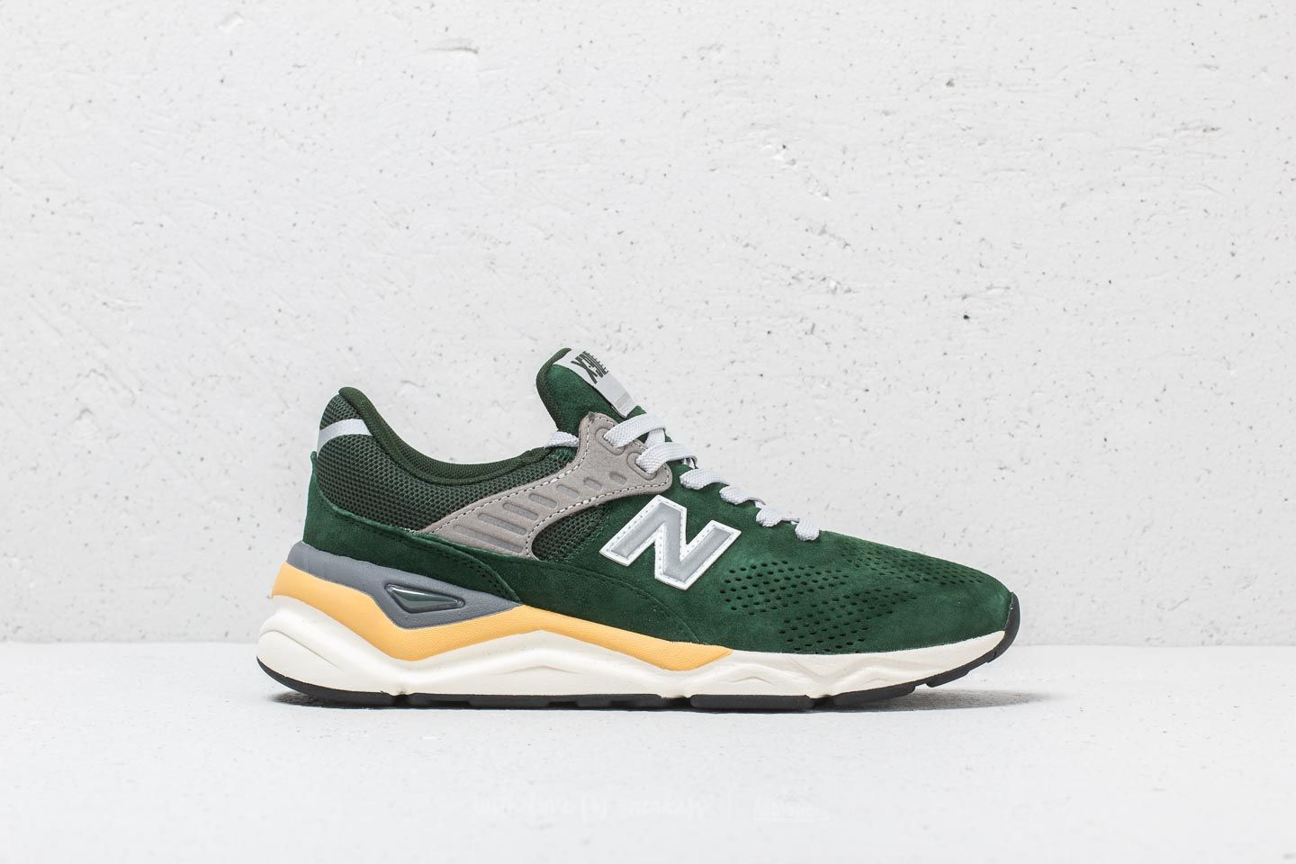 new style new concept super quality New Balance X-90 Green/ Yellow | Footshop