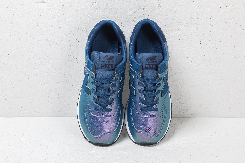 meet 5bf99 f866f New Balance 574 Purple/ Blue   Footshop