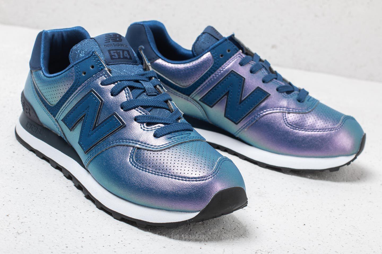 Women's shoes New Balance 574 Purple/ Blue