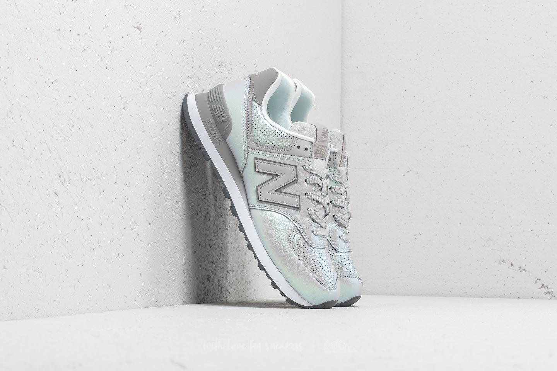 New Balance 574 Metallic Grey/ Green za skvělou cenu 2 490 Kč koupíte na Footshop.cz
