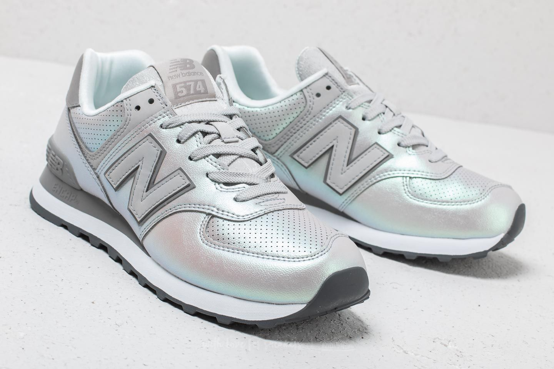 new balance 574 metallic
