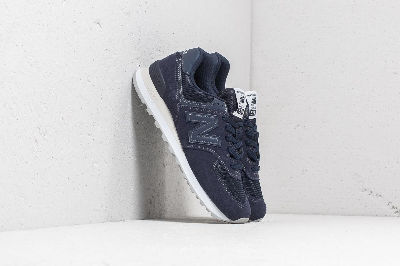 New Balance 574 Blue/ White