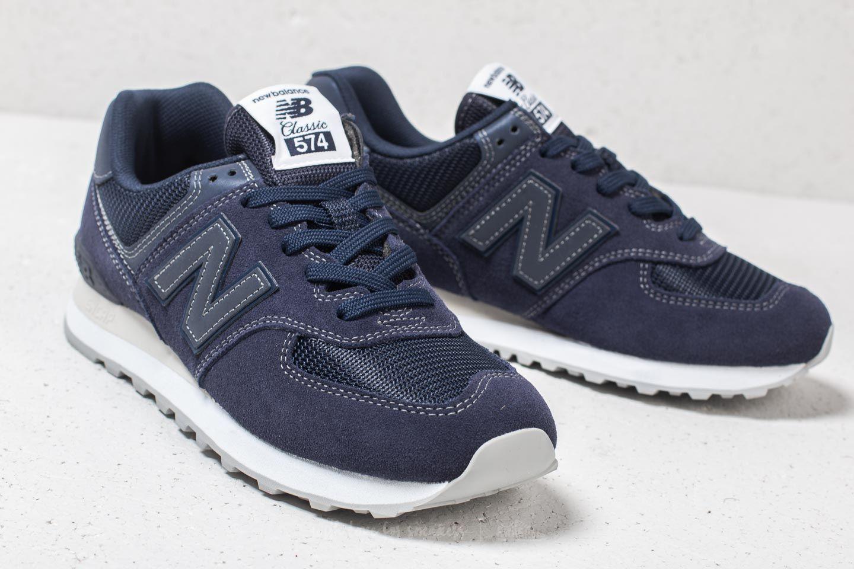 new balance 574 schwarz blau