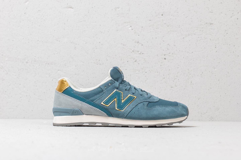 new balance 996 bleu gold