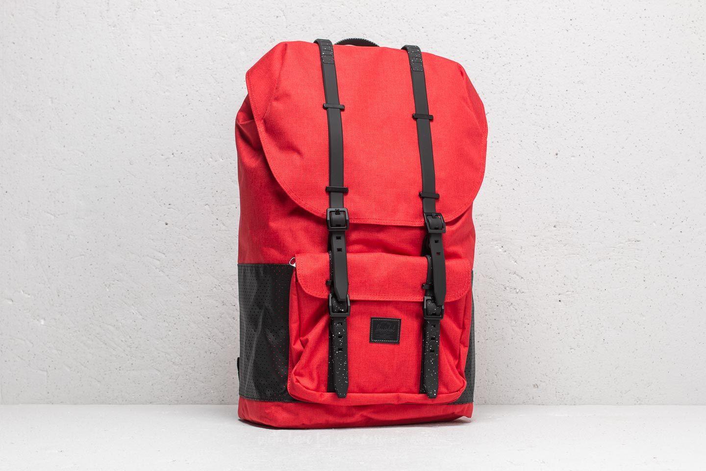c607c6241b Herschel Supply Co. Little America Backpack Cherry  Black