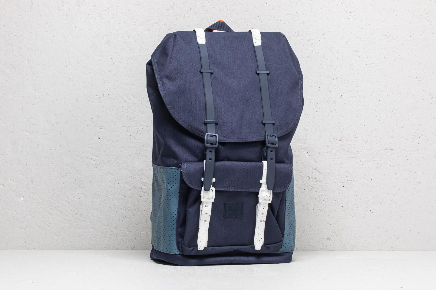 f1d5a7446ad Herschel Supply Co. Little America Backpack Peacoat  Navy ...