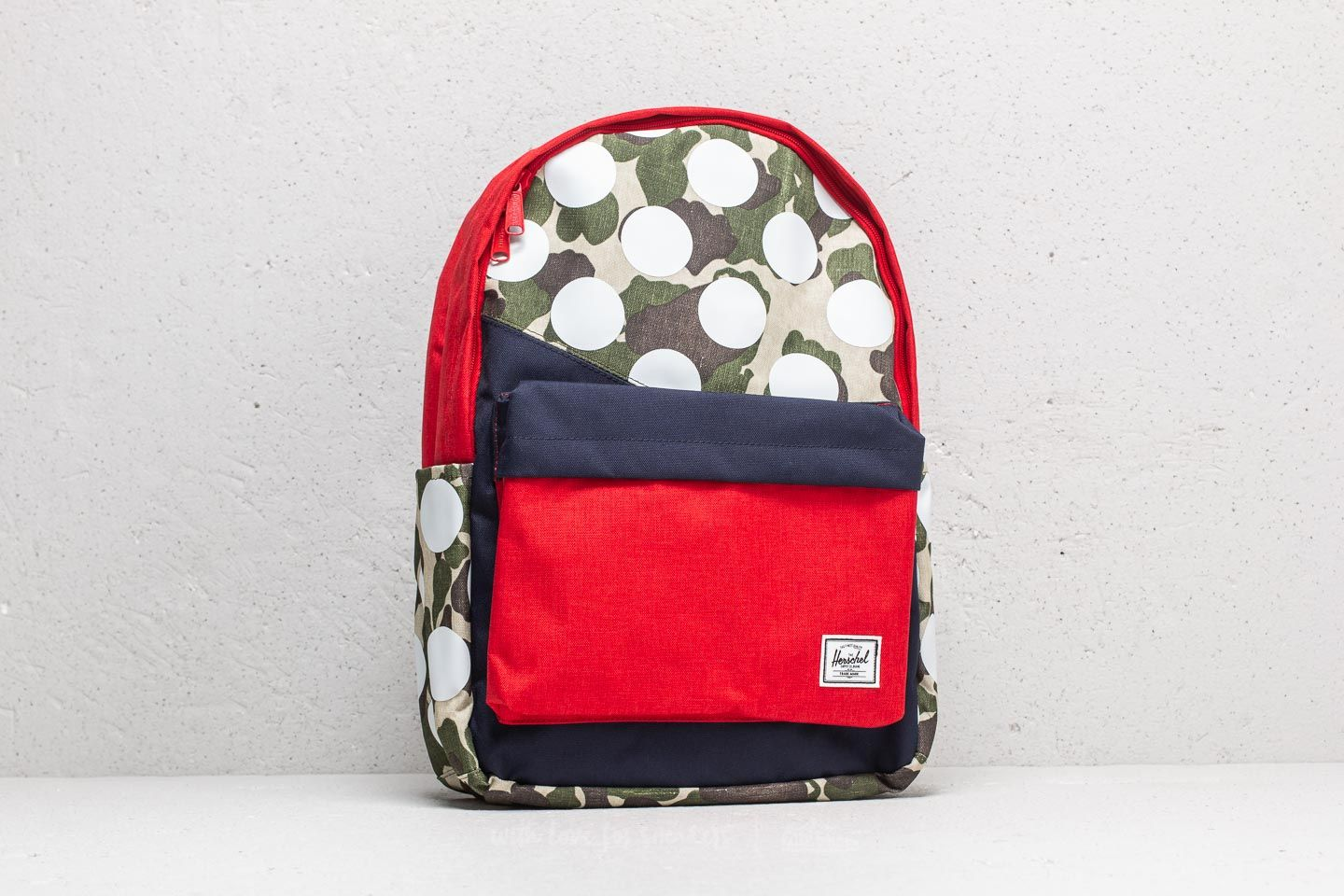 98fac348b7 Herschel Supply Co. Classic Backpack Frog Camo  Barbados Cherry ...