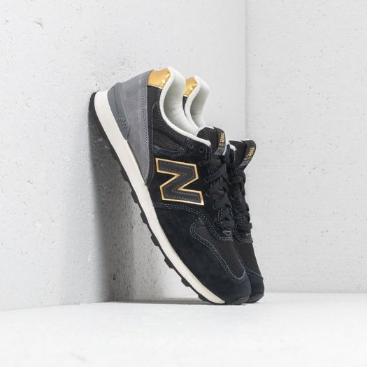 quality design 93445 326f3 New Balance 996 Black/ Gold/ Grey | Footshop